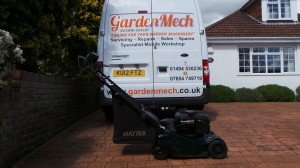 Mobile Lawnmower Service - Servicing By Garden Mech Workshop